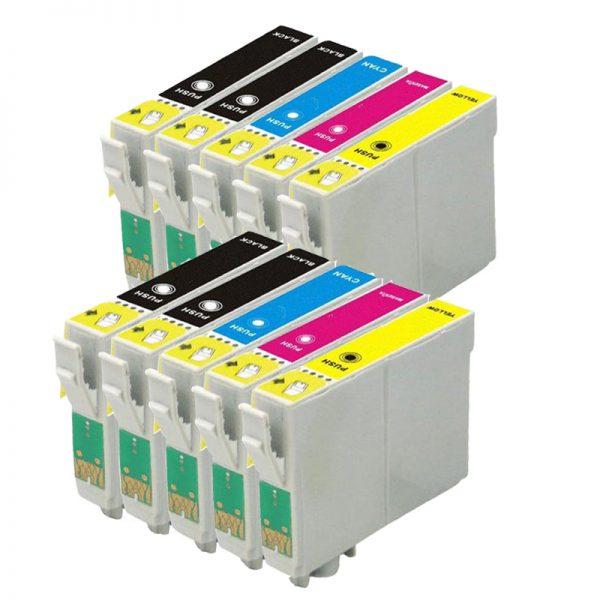 Epson Compatible 27XL (T2711/12/13/14) - 10 PACK