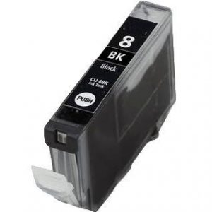 Compatible Canon CLI-8BK Black