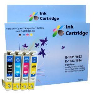 COMPATIBLE EPSON INK CARTRIDGES T1631/32/33/34 BK/C/M/Y *4 MULTIPACK