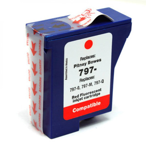 Compatible Pitney Bowes 797-0 Red