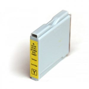 Compatible Brother LC1000Y / LC970Y Yellow