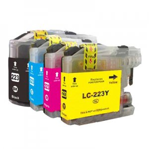 Compatible LC223XL 4-PACK