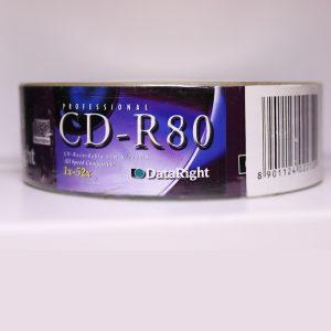 PROFESSIONAL DATARIGHT CD-R80 Recordable 80min 700MB 52x 25PCS