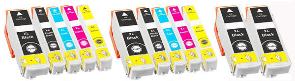 Compatible Epson 26XL (12-PACK)