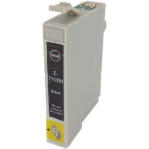 Compatible Epson T0711H Black