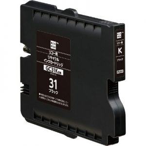 Compatible Ricoh GC31B Black