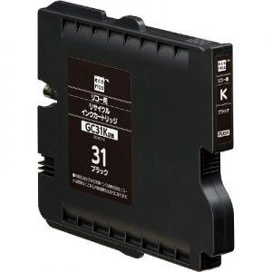 Compatible Ricoh GC31B Black