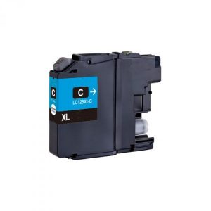 Compatible Brother LC125XLC Cyan