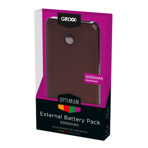 External Battery Pack 5000mAh