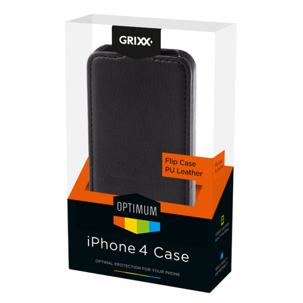 For iPhone 4/4S GRIXX Flip case