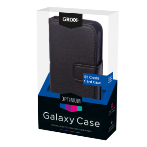 FOR SAMSUNG GALAXY S5 GRIXX Credit card case