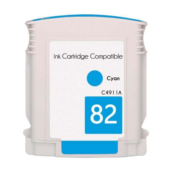 Compatible HP 82 Cyan