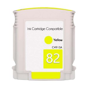 Compatible HP 82 Yellow