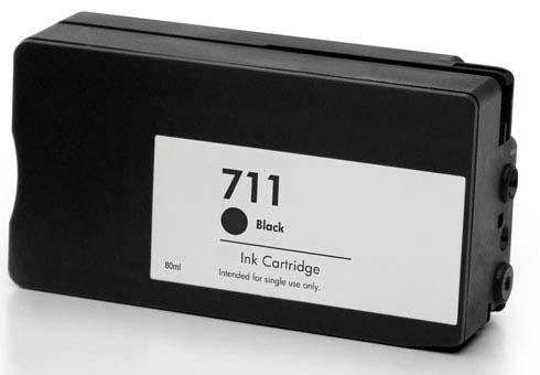 Compatible HP 711 Black