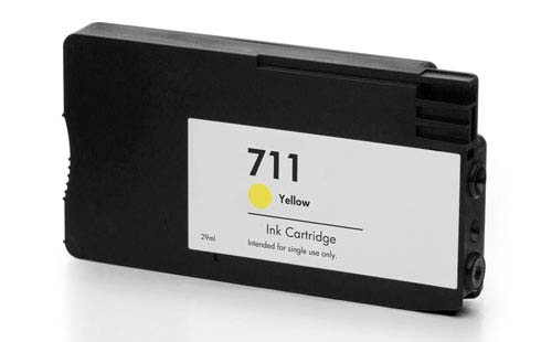 Compatible HP 711 Yellow