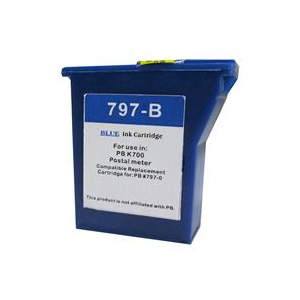 Compatible Pitney Bowes 797-0 Blue