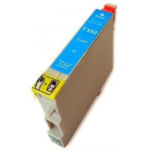 Compatible Epson T0552 Cyan
