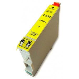 Compatible Epson T0554 Yellow