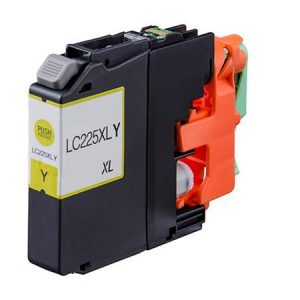 Compatible Brother LC225XLY Yellow