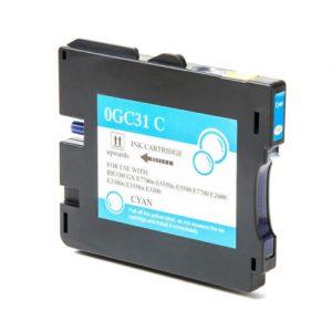 Compatible Ricoh GC31C Cyan