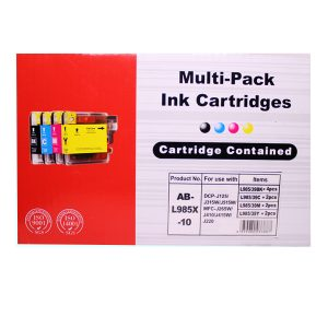 Compatible Brother Ink Cartridges LC985 BK/C/M/Y *10 MULTIPACK