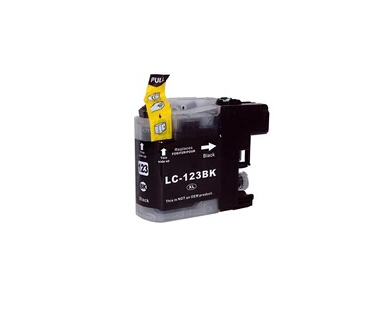 Compatible Brother LC123BK Black