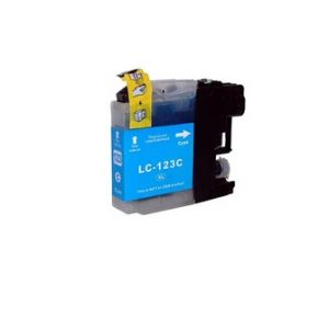 Compatible Brother LC123C Cyan