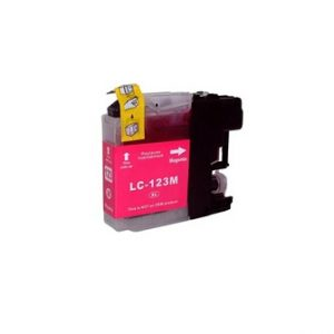Compatible Brother LC123M Magenta