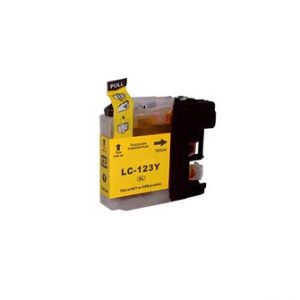 Compatible Brother LC123Y Yellow