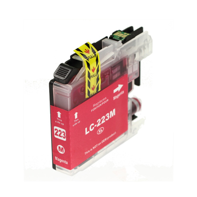 Compatible Brother LC223M Magenta
